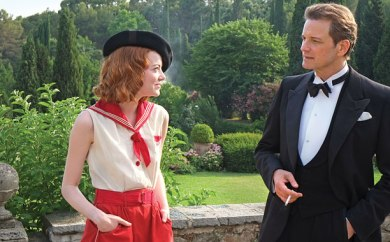MAGIC IN THE MOONLIGHT (2014) Emma Stone and Colin Firth